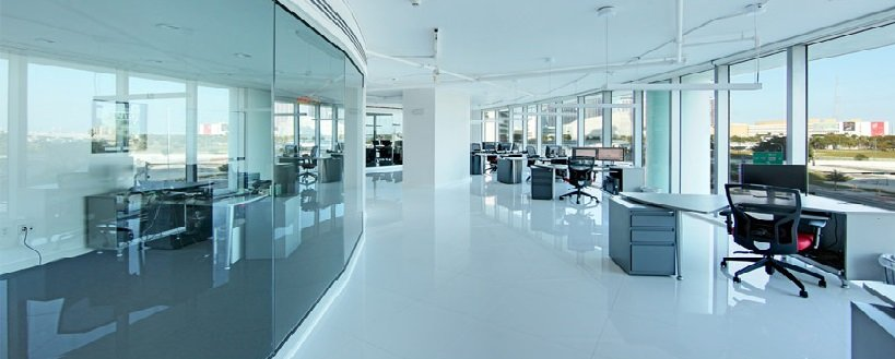 An office which is cleaned by us in George St, Sydney NSW 2000