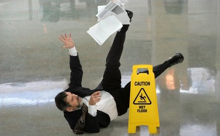 commercial cleaning fall