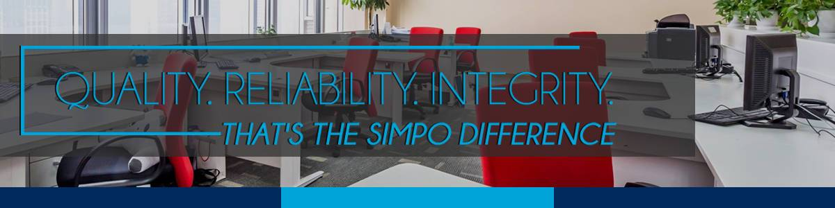 the simpo commercial cleaning banner